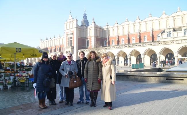 Międzynarodowe Spotkanie Partnerów Projektu w Polsce, Kraków 12-15.02.2015